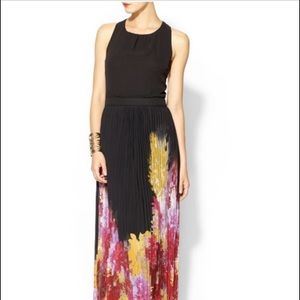Sabine Maxi W/Pleated Floral Skirt, NWOT, Stunning